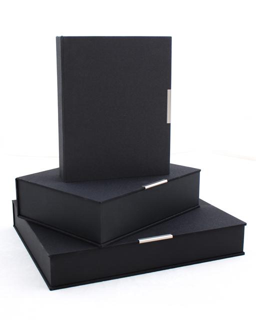 Artisan Grey/White 8x10 Slip-in album